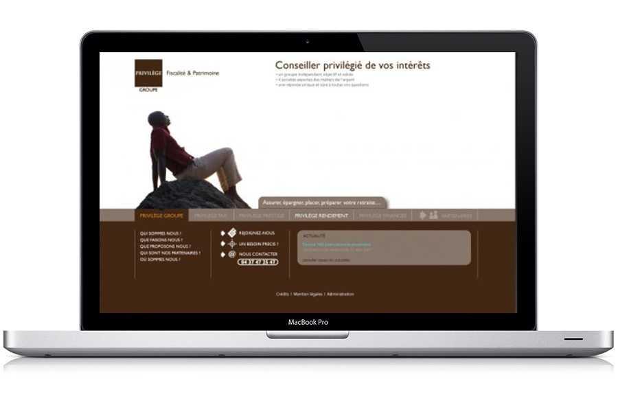 Site web défiscalisation |Groupe Privilège