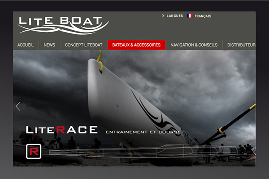 site wordpress liteboat