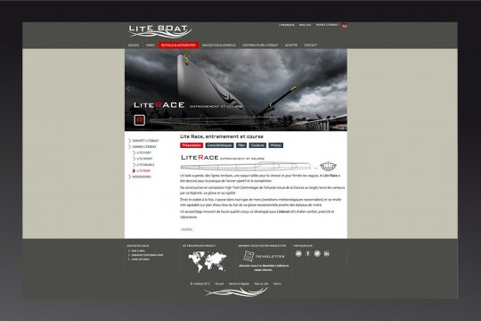 site wordpress liteboat