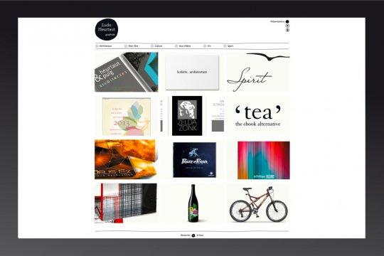 Site web du graphiste Ludovic Heurtaut