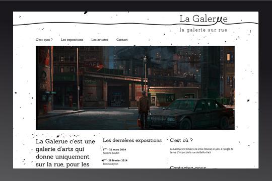 Site web La Galerue