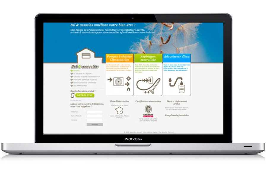 Site web BSL & Associé