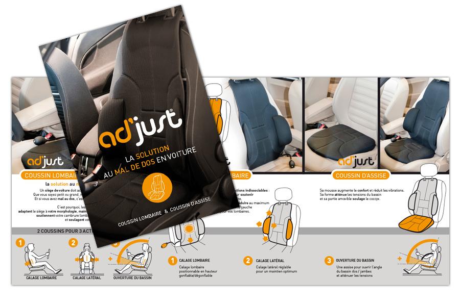 Plaquette commerciale | Adjust