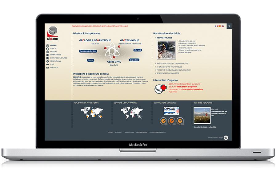 site responsive ordinateur