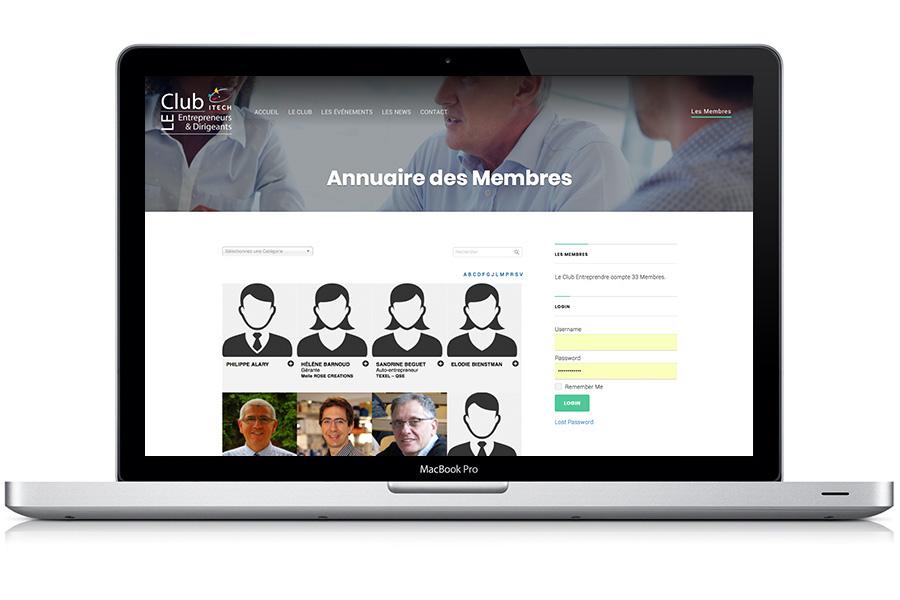 Annuaire Entrepreneur WordPress | Club entreprendre ITECH