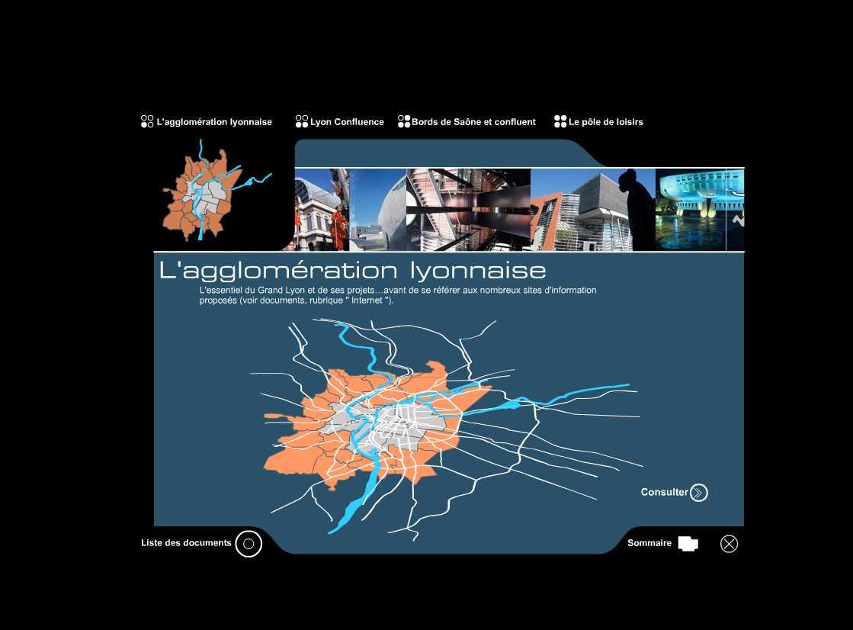 Lyon Confluence | CD-Rom de l'appel d'offre