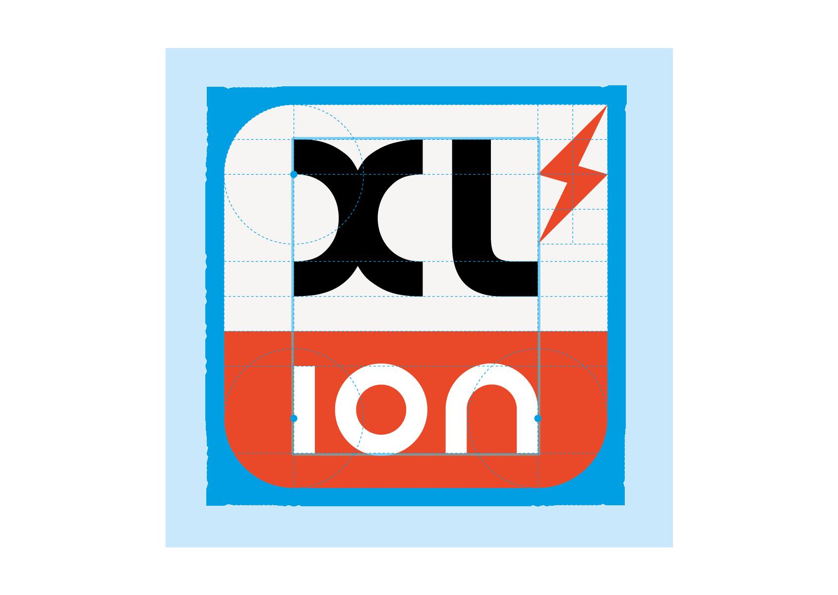 Logotype XL ion