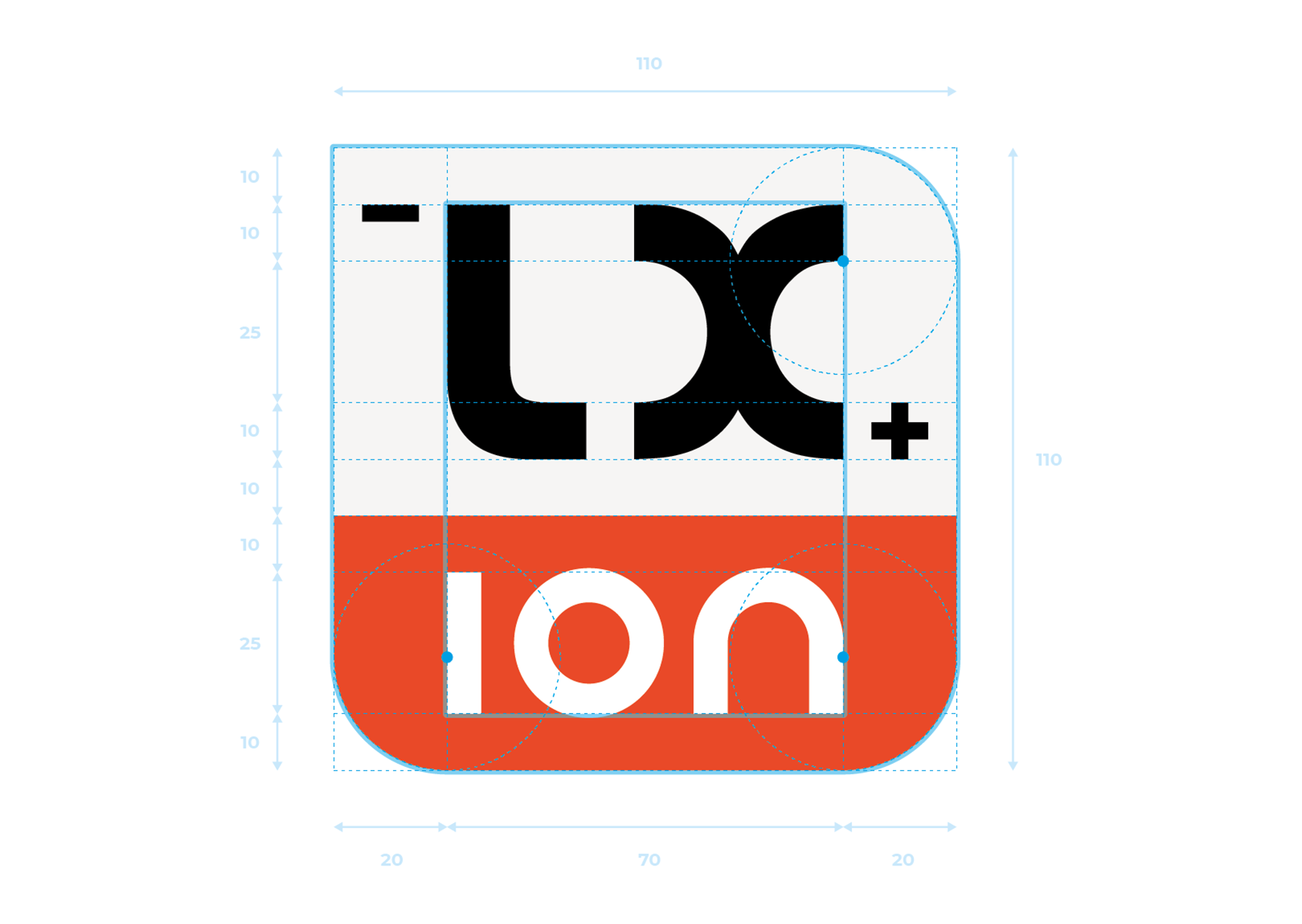Logotype LX ion
